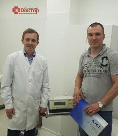Внедряем новые технологии. A.M.I. HAL-RAR Dopler System в Коломне.