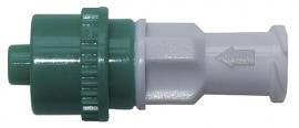 Коннектор с возвратным клапаном, мод. АА118