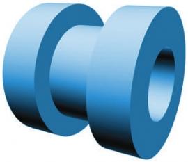 Вентиляционные трубки из поверхностно-обработанного силикона Microgel®