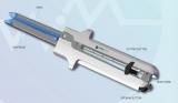 Одноразовый сшивающий аппарат линейного анастомоза со сменными кассетами